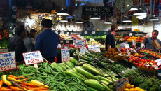 Frutta e verdura al Pike Market di Seattle